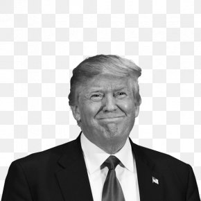 Donald Trump - Donald Trump US Presidential Election 2016 Black And White United States PNG