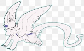 Sphinx Winged - Line Art Mammal Drawing Cartoon Ear PNG