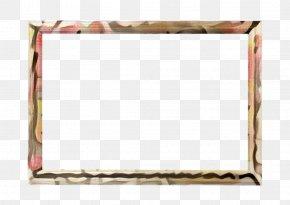Picture Frame Rectangle - Wood Frame Frame PNG