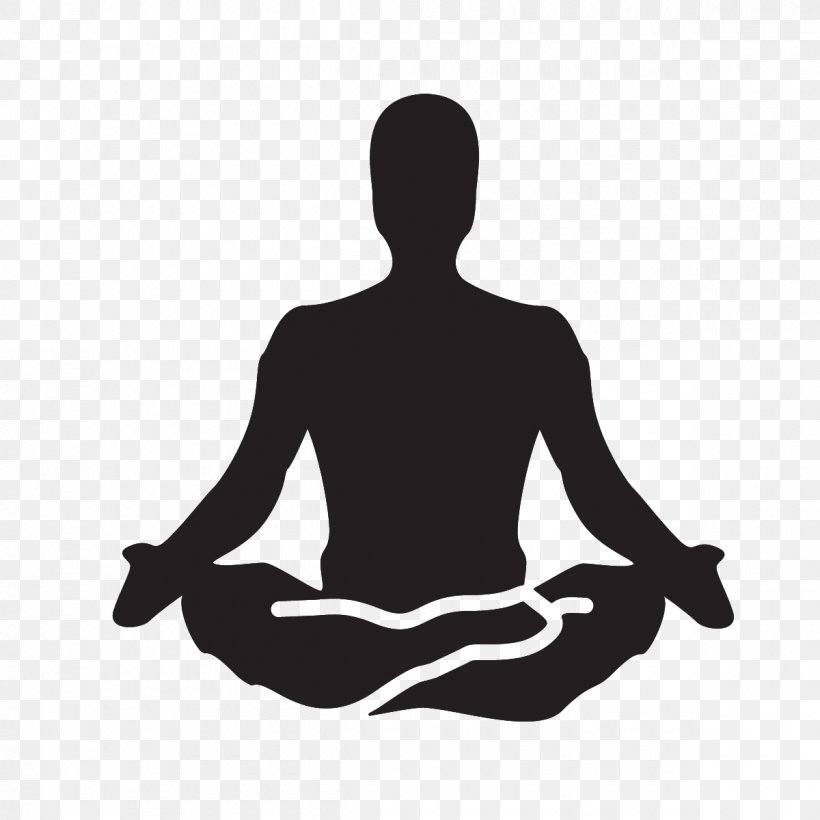 Yoga Meditation Clip Art Png 1200x1200px Yoga Arm Asana Black And White Joint Download Free
