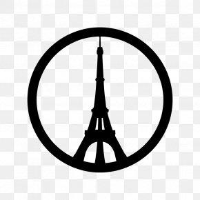 Eiffel Tower - Eiffel Tower November 2015 Paris Attacks Peace For Paris Peace Symbols PNG