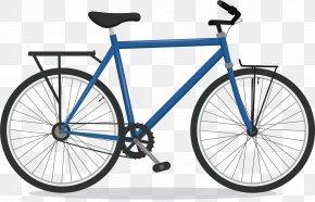 Blue Cross Bike - Road Bicycle Schwinn Bicycle Company 41xx Steel Derailleur Gears PNG