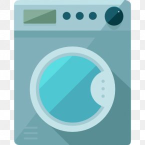 A Washing Machine - Washing Machine Laundry Clothing Icon PNG
