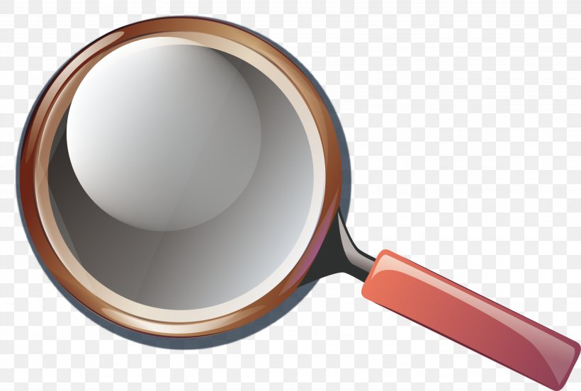 Magnifying Glass Euclidean Vector Mirror, PNG, 2662x1793px, Magnifying Glass, Element, Frying Pan, Glass, Gratis Download Free