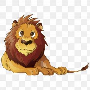 Lion - Tiger East African Lion Leopard Sticker Felidae PNG