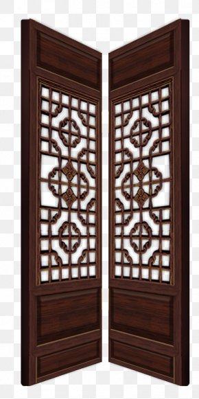 Door Pattern - Window Room Divider Door PNG
