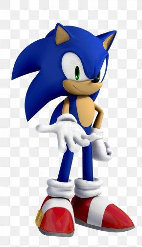 Sonic The Hedgehog - Action & Toy Figures Figurine Cobalt Blue Cartoon PNG