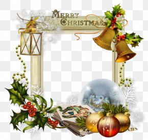 Mall Decoration - Christmas Wafer Ded Moroz New Year Christmas Eve PNG