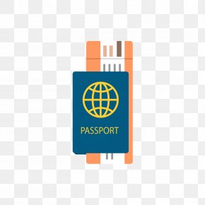 Blue Passport And Orange Ticket - India SSC Combined Graduate Level Examination World Union Public Service Commission Test PNG