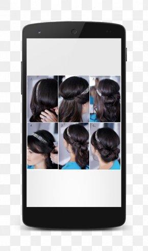 Bun - Style Your Hair Hairstyle Bun Hair Tie Hairdresser PNG