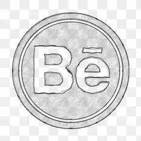 Silver Symbol - Behance Icon Portfolio Icon Social Network Icon PNG