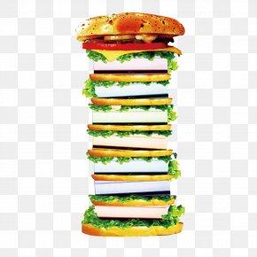 Super Burger - Hamburger Cheeseburger Veggie Burger Fast Food Chicken Sandwich PNG