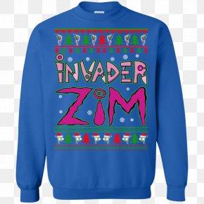 T-shirt - T-shirt Christmas Jumper Hoodie Santa Claus Sweater PNG
