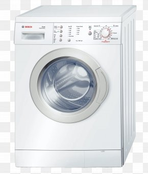 Washing Machine Appliances - Washing Machines Clothes Dryer Laundry Home Appliance Robert Bosch GmbH PNG