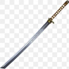 Giant - Katana Sword Weapon Wakizashi Samurai PNG