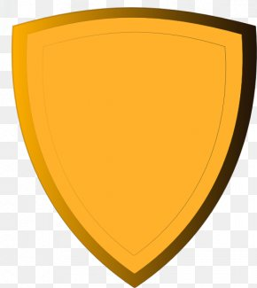 Gold Shield Clip Art - Shield Clip Art PNG