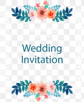 Vector Wedding Invitations - Wedding Invitation Picture Frame Flower PNG
