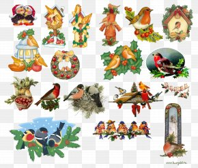 A Decorative Pattern For The Year Of The Chicken - Christmas Ornament New Year Clip Art PNG