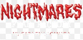 Nightmare Before Christmas - Logo Font Brand Blood Product PNG