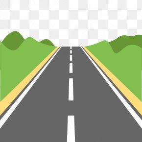 Road - Emoji Road Highway Icon PNG