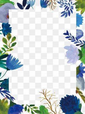 Flower Border - Floral Design Flower PNG