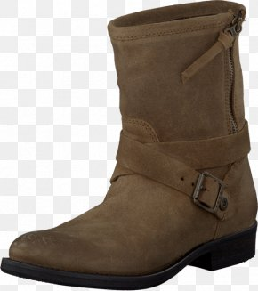 Tommy Hilfiger - Boot Shoe Leather Brown Zipper PNG