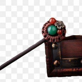 Bob Wood Antiquity - China Hairpin Hair Stick Wood PNG