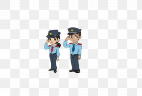 Cartoon Police - Police Officer Icon PNG