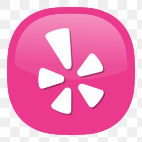 Pink Icon - Yelp Gentle Family Dentistry LLC Review PNG