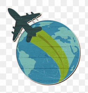 Wing Earth - Globe Icon Travel Icon Travel And Places Icon PNG