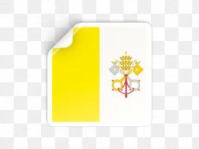 Flag Vatiacn - Flag Of Vatican City Brand Rectangle PNG
