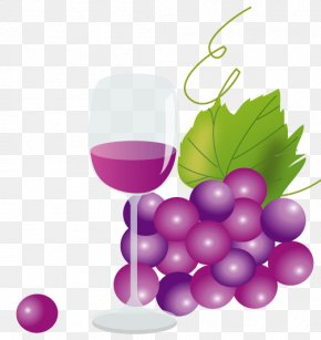 A Bunch Of Grapes - Grape Wine Beaujolais Nouveau Inuyama Muscat PNG