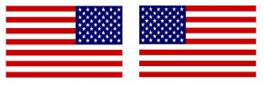 American Flag Clip Art - Flag Of The United States Decal Clip Art PNG