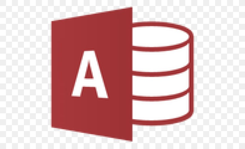 Microsoft Access Database Microsoft Office 365, PNG, 500x500px, Microsoft Access, Area, Brand, Computer Software, Database Download Free