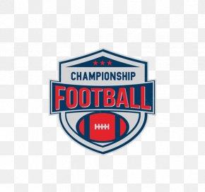 Flag Football - American Football Football Team Logo PNG