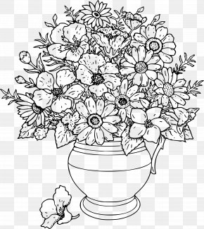Adults Coloring Pages Flowers Coloring Book For Kids Flowers Coloring Book For KidsFlower - Coloring Pages PNG