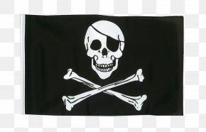 Flag - Jolly Roger Flag Skull And Crossbones Piracy Eyepatch PNG