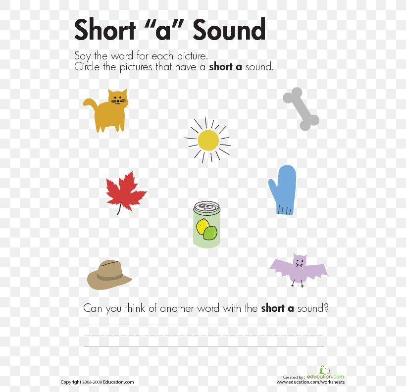 Vowel Length First Grade Phonics Worksheet, PNG, 612x792px, Vowel, Area,  Brand, Child, Diagram Download Free