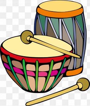 Cartoon Vector Color Drum - Bongo Drum Clip Art PNG