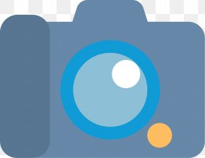 Flat Digital Camera Icon - Camera Flat Design Video Icon PNG