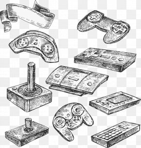 Vector Gamepad - Joystick Gamepad Game Controller Video Game Console PNG
