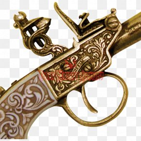 Weapon - Firearm Pistol Weapon Flintlock Handgun PNG