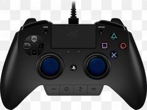 Playstation - PlayStation 4 Razer Raiju Game Controllers Video Game PNG