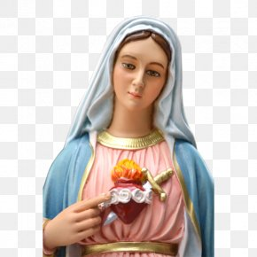 Maria - Immaculate Heart Of Mary Saint Rosary Litany PNG