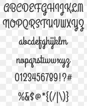Open-source Unicode Typefaces Handwriting Cursive Font PNG