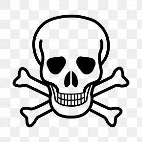 Skull - Skull And Bones Skull And Crossbones Clip Art PNG