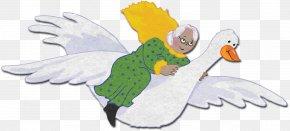 Goose - Mother Goose Duck Nursery Rhyme Clip Art PNG