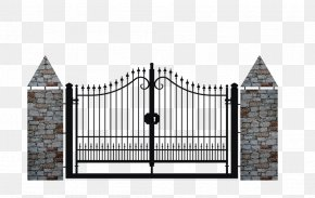 Fence - Fence Gate Wrought Iron Infisso PNG