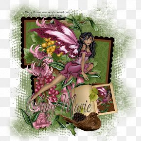 Autumn Rose - Floral Design Fairy Flowering Plant PNG