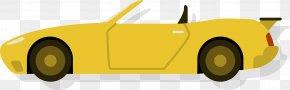 Sports Car Streamline - Sports Car Compact Car Automotive Design PNG